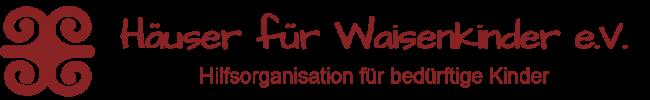 Hilfsorganisation für bedürftige Kinder mit Symbol